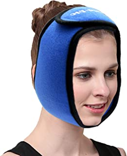 WORLD-BIO Face Ice Pack For Wisdom Teeth, Jaw, Head And Chin - 4 Reusable Hot & Cold Gel Packs With Adjustable Stretch Wra...