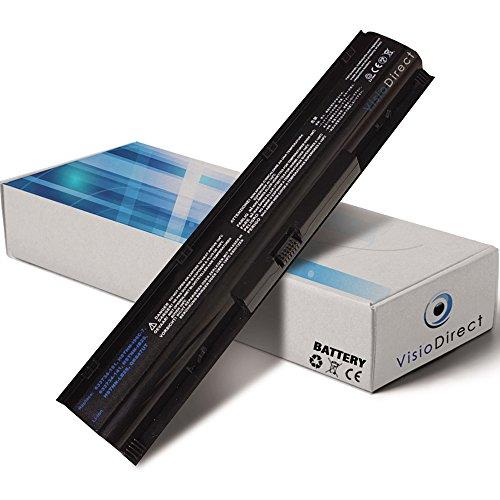 Visiodirect Batterie 14.8V 4400mAh Compatible HP COMPAQ 633733-321 633807-001 Probook 4740s 4740s 4535s 4730s 633733-321 633807-001 4730s 4740s