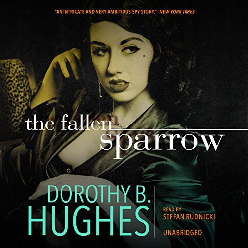 The Fallen Sparrow audiobook cover art