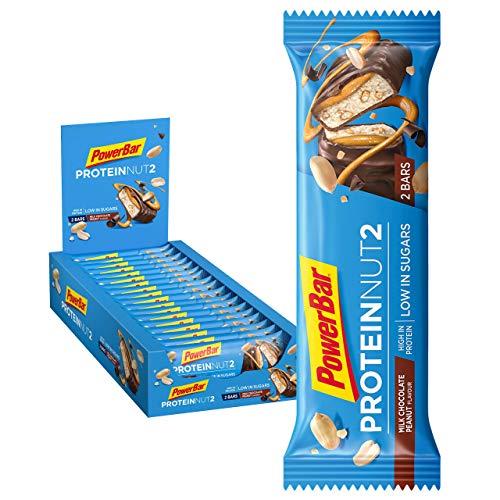 PowerBar Protein Nut2 Milk Chocolate Peanut 18x(2x22,5g) - B