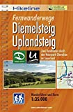 Hikeline Fernwanderweg Diemelsteig/Uplandsteig (Sauerland) ca.54/64 km: Zwei Rundtouren durch den Naturpark Diemelsee im Sauerland, wetterfest, GPS zum Download