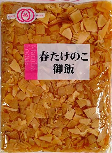 マニハ 春たけのこ御飯 1kg 竹の子ごはんの素 業務用 2升炊き込み用