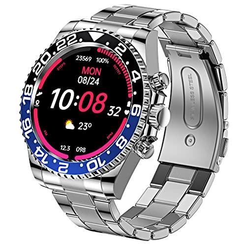 Smart Watch per uomo Bluetooth Comporre la pressione sanguigna, ossigeno nel sangue, cardiofrequenzimetro, orologio da uomo, fitness tracker IP68, impermeabile 1.3, touch screen, Smartwatch