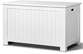Kid's Toy Cabinet Chest White