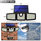 Photo #3: Solar Motion Sensor Lights by AmeriTop Featuring 800LM Wireless LED Lights 2 Pack
