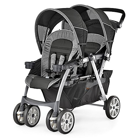 Buy Easily Travel with 2 Infants Together Double Stroller in Avena 47.25 L x 23.5 W x 45.5 H