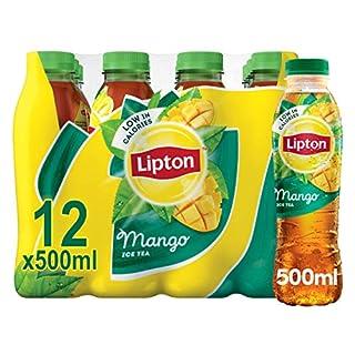 Lipton Ice Tea Mango Still Soft Drink 500ml, (Pack of 12) (B0077PPURY) | Amazon price tracker / tracking, Amazon price history charts, Amazon price watches, Amazon price drop alerts