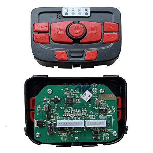 Check Out This Nonbrand 24V Children Electric Vehicle Multi-Function PCB Centre Panel, Printed Circuit Board Motherboard Control Entertainment Operation System Accessories for Powered Wheels Replacement Parts
