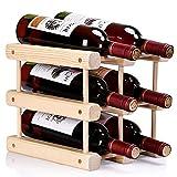 ducomi Botellero Vino y Módulos de madera para botellas