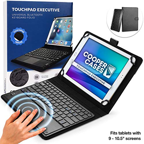 """Cooper Touchpad Executive [Multi-Touch Mouse Keyboard] case for 9-11"""" Tablets 