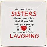 Onederful Sister Gifts from Sister Friends and Mom, Ceramic Ring Trinket Dish Sister Gifts Ideas for...