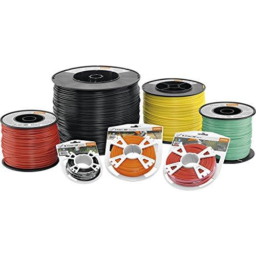 Stihl 00009302338 Line-Cortabordes, color naranja, 2,4 mm x 14,6 m orange
