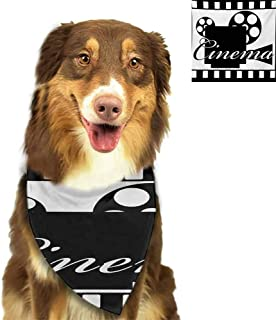 W Machine Sky Accessories for Pet Movie Theater,Different Retro Tickets for Cinema and Other Events Vintage Illustration,Multicolor Neck Decor