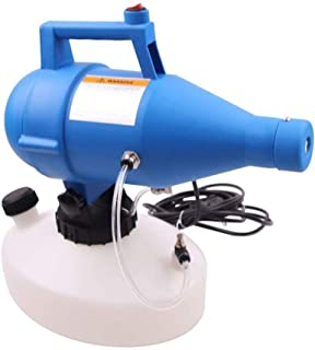 JRZDFXS Electric ULV Fine Mist Sprayer Portable 4.5L Electrostatic Fogger Sprayer Machine Suitable for Indoor and Outdoor