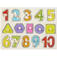 木製パズル 数字 型はめ パズル 遊び学習 知育玩具 3歳以上 1 2 3