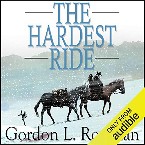 The Hardest Ride audiobook cover art