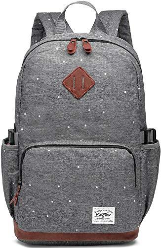 Kaukko Damen Rucksack Studenten Backpack Laptop College Schulrucksack Reiseeucksack, (05) ...