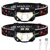 Headlamp Flashlight, LHKNL 1100 Lumen Ultra-Light Bright LED...