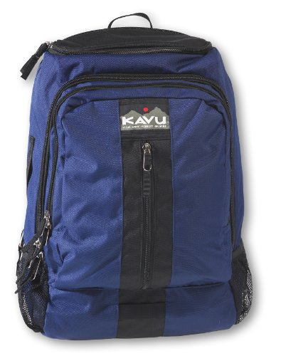 KAVU Flattop Backpack, 2100 Cubic Inches, Navy