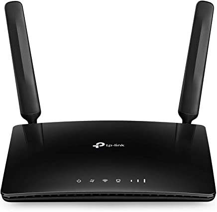 [New] TP-Link Router 4G LTE WiFi con Velocidad Alta hasta 300Mbps, Alternativas para ADSL, Compatible con Todos los operadores, límite del Consumo del dato (TL-MR6400)