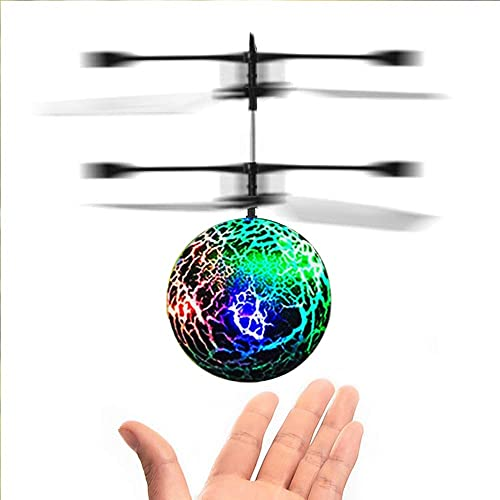 DMbaby Noverty Toys Flying Ball Helicopter Best Gifts