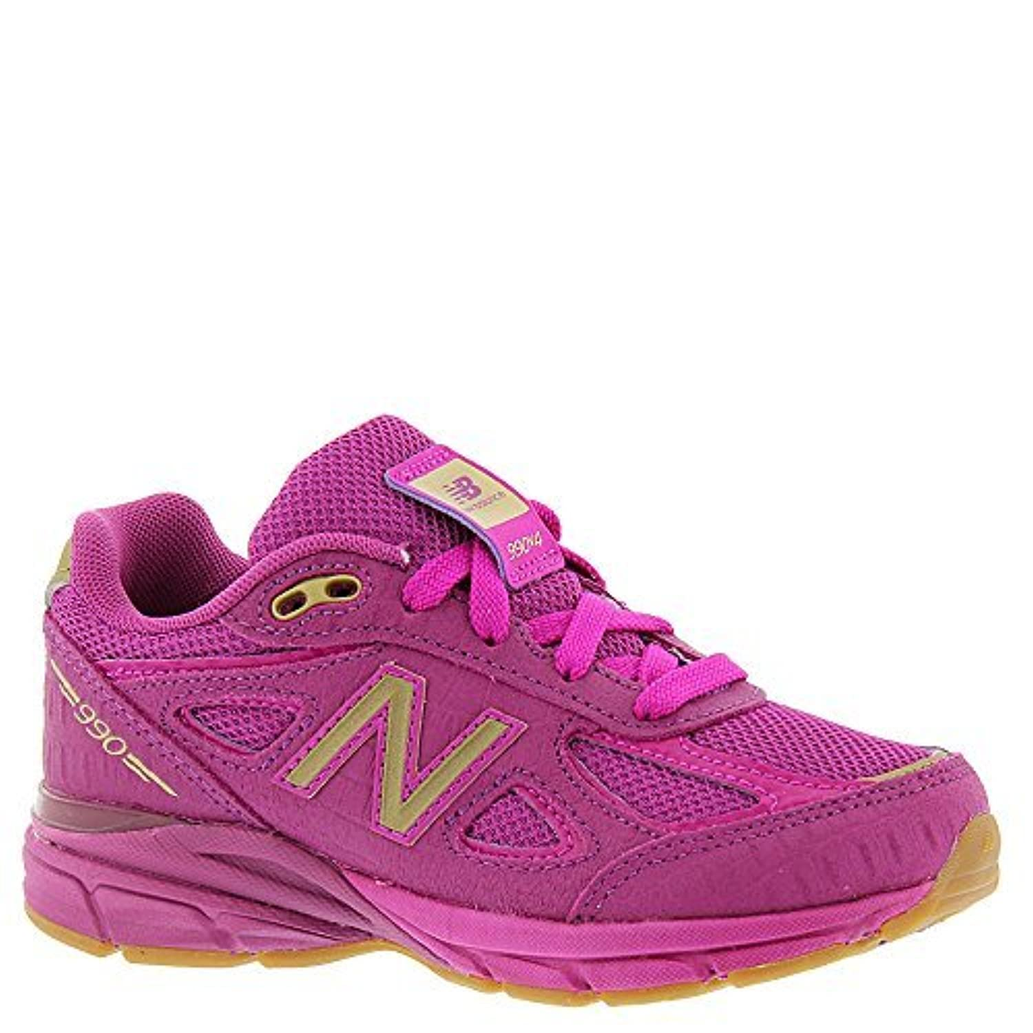 New Balance KJ990V4 Pre Running Shoe (Little Kid) Purple/Purple 12.5 M US Little Kid [並行輸入品]