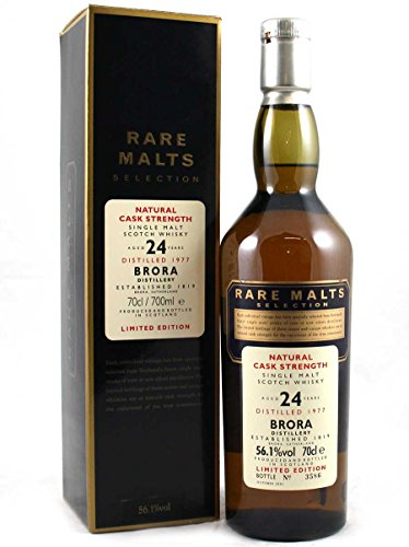 Brora (silent) - Rare Malts - 1977 24 year old Whisky