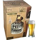 Kit de brassage artisanale Bière, présenté dans un joli coffret idéal pour un cadeau Le coffret contient : Dame-jeanne en verre (bonbonne de 3,78 litres), Un bouchon percé et barboteur en U, Un thermomètre en verre, Un système de soutirage avec anti-...