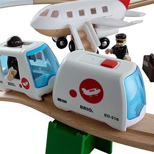 Brio - 33301 - Jeu de Construction - Circuit Aéroport Monorail