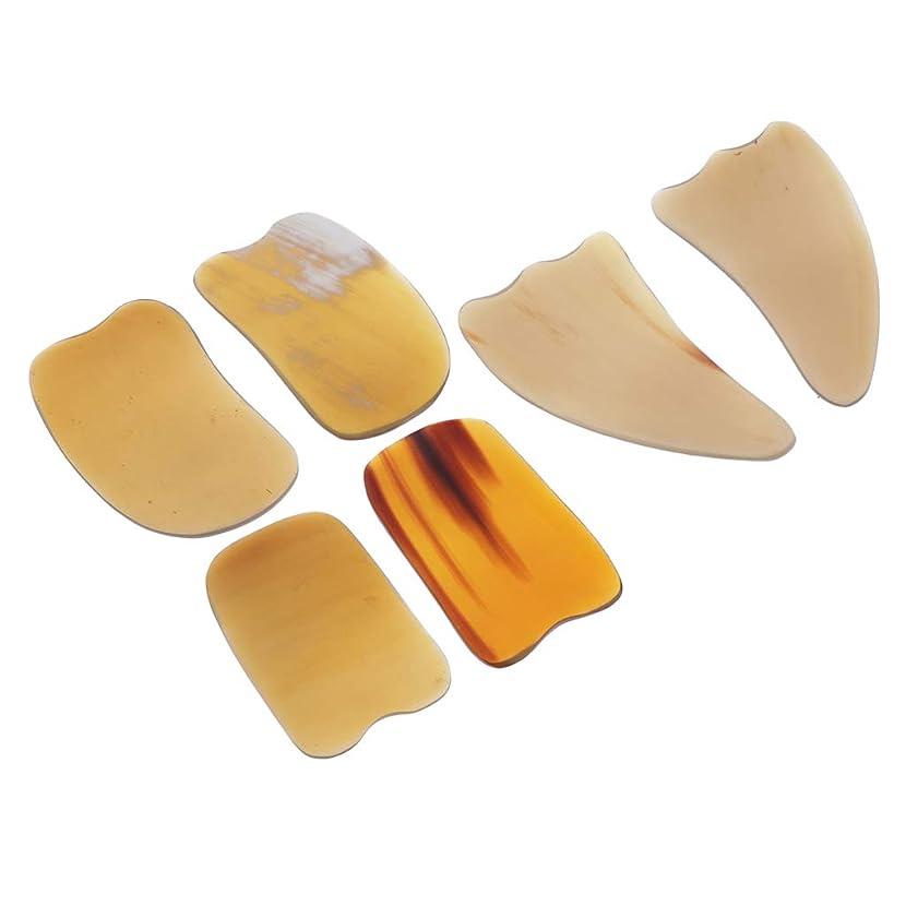 鍔駐地崇拝するスクレイピングボード カッサボード カッサマッサージ道具 ボディマッサージ SPA 角形