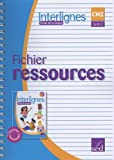 Etude de la langue CM2 Interlignes - Fichier ressources