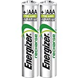 Energizer Power Plus AAA Rechargeable Battery Hybrides Nickel-métal (NiMH) - Piles domestiques (Rechargeable Battery, AAA, Hybrides Nickel-métal (NiMH), 1,2 V, 2 pièce(s), 700 mAh)