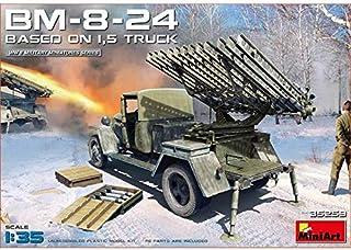 ミニアート 1/35 ソ連軍 BM-8-24カチューシャ砲/1.5tトラック搭載 プラモデル MA35259
