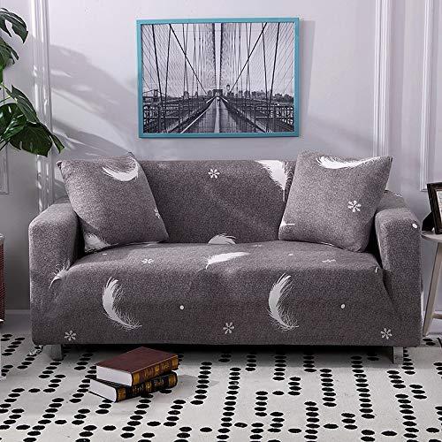 WXQY Sala de Estar geométrica Todo Incluido Funda de sofá Moderna sección elástica Funda de sofá de Esquina Funda de sofá A7 3 plazas