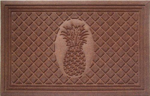 Entryways–Felpudo piña Weather Beater (Polipropileno), Color marrón