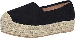 comprar comparacion AIni Zapatos De Mujer OtoñO Alpargatas Zapatos De Plataforma Sandalias Romanas Vintage Zapatos Planos De Casuales Gran Tam...