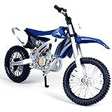 YN オートバイモデル1:12スケールヤマハYZ450F合金オフロードバイクモデル装飾コレクションギフトおもちゃ (Color : Blue, Size : 17*6*9cm)