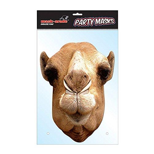 Unbekannt MA1315–Tiermaske Kamel–Karton–Einheitsgröße