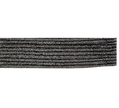 FastCap FOAM20BL 2' by 4' 20MM Kaizen Black Foam w. 1/8-In Layered Section, 5PK