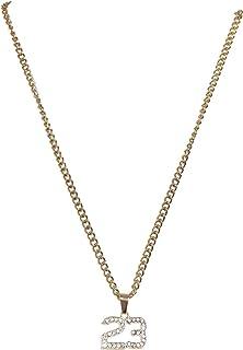 Urban Classics 23 Diamond Necklace Gemelli, Gold, One Size Unisex-Adulto