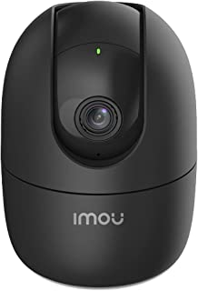 Imou Wi-Fi 1080p Full HD 360° Viewing Area Security Camera, Black