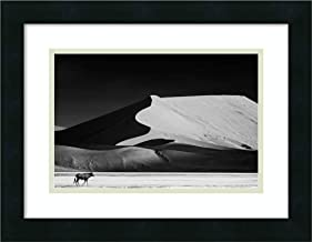 Framed Wall Art Print The Solitary by Mathilde Guillemot 18.00 x 14.00