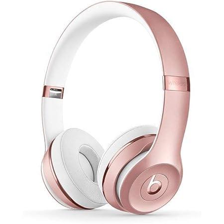 beats Solo3 Wireless On-Ear Headphones - Rose Gold (Renewed)