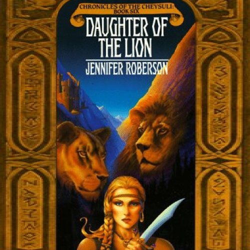 Daughter of the Lion audiobook cover art