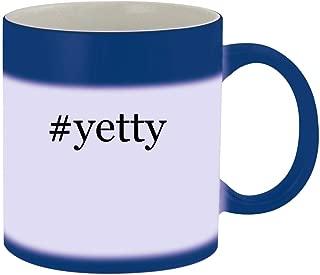 #yetty - Ceramic Hashtag Blue Color Changing Mug, Blue