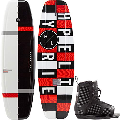 Hyperlite Motive Jr. Wakeboard w/Remix Kid's Bindings Kid's Sz 119cm/(12k-2)