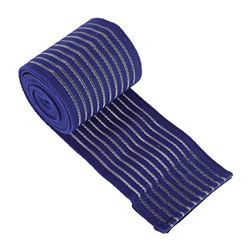 Yosoo Elastic Knee Brace Compression Bandage Wraps, Pain Relief Straps Support for Legs, Thighs, Elbow, Knee, Wrist and Ankle (blue)
