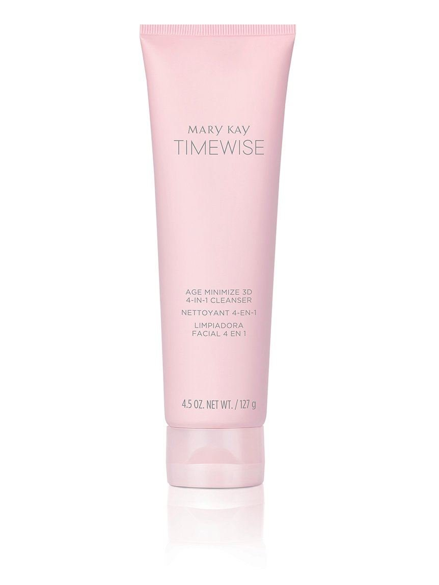 Mary Kay Timewise Age Max 59% OFF Minimize Cleanser Dry Nornal 4-In-1 Department store 3D