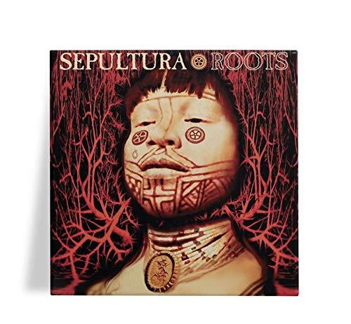 Azulejo Decorativo Sepultura Roots 15x15