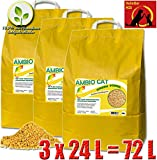 Naturprodukt Ambio Cat Green Power wie GreenCat 3X 24L (72L)